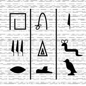hieroglifă